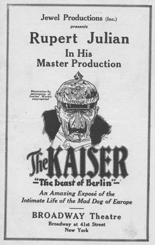 The Kaiser, the Beast of Berlin movie